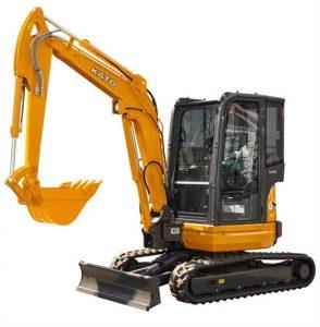 3.5 Ton HD35V5 KATO Mini Excavator