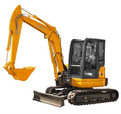 5.2 Ton HD55V5 KATO Mini Excavator