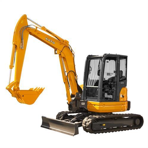 5.6 Ton HD60V5 KATO Mini Excavator