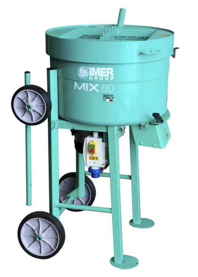 IMER Portable Mortar Mixer 80L