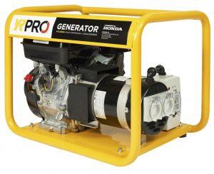 4.1 kva Honda Powered YR Pro Series Portable Generator