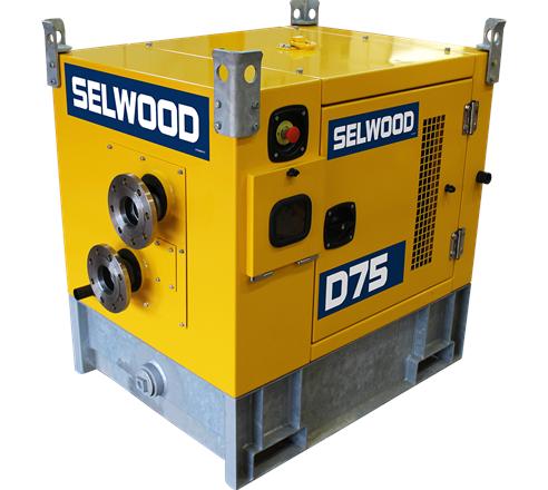Selwood D75SS Drainer  Pump