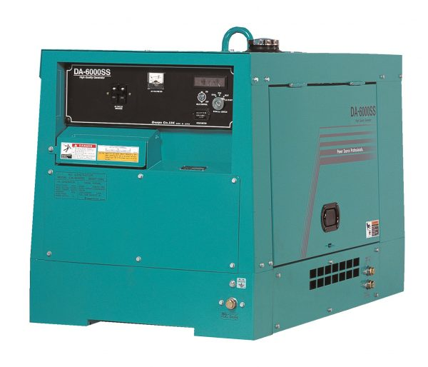 DA-6000SS Diesel Silenced Generator