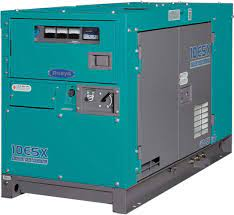 DCA10 Silenced Diesel Generator
