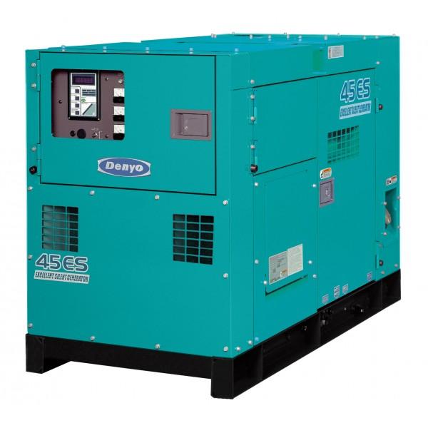 DCA45 Silenced Diesel Generator