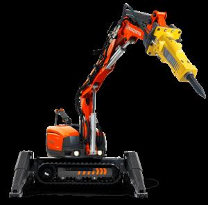 DXR300 Demolition Robot