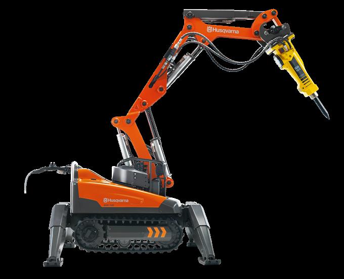 DXR140 Demolition Robot
