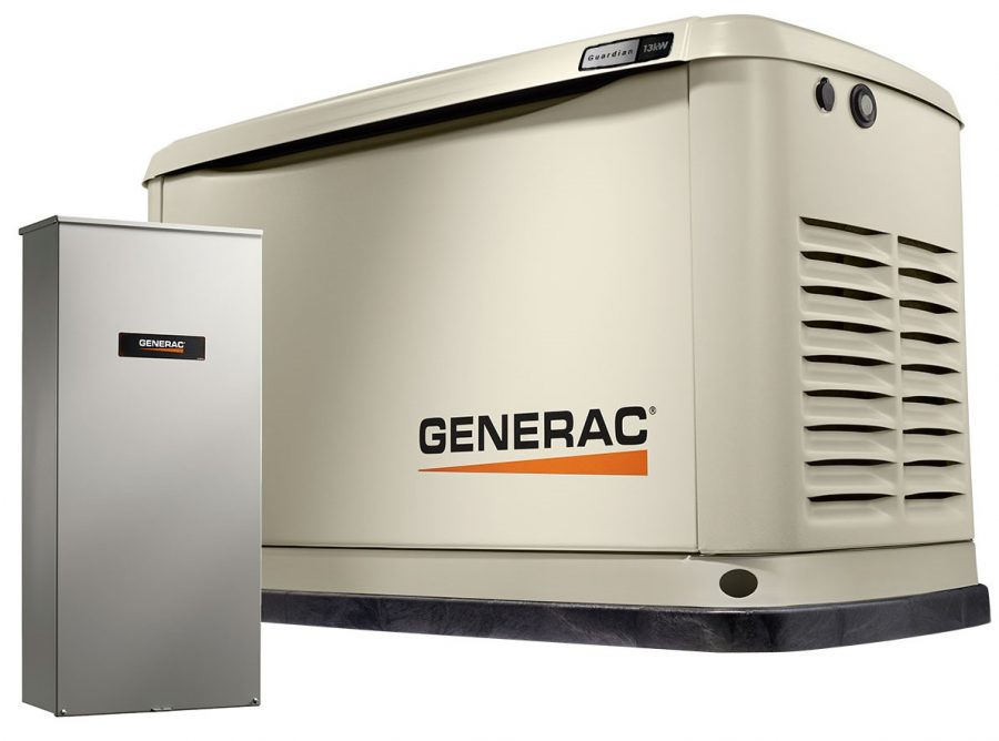 Generac Home Standby Generator – LPG