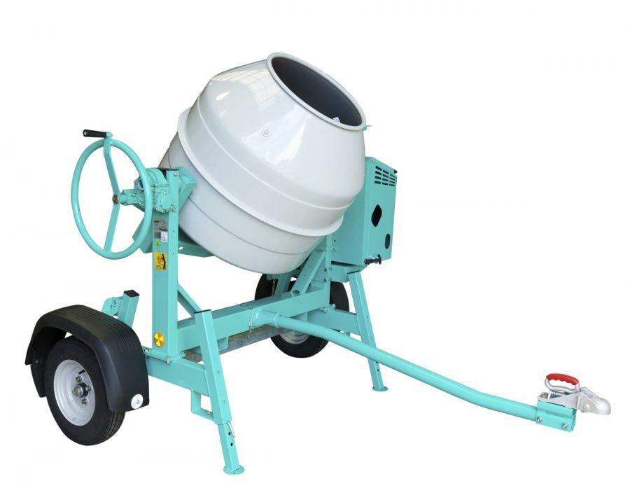 IMER Large Capacity Towable Site Concrete Mixer 345L