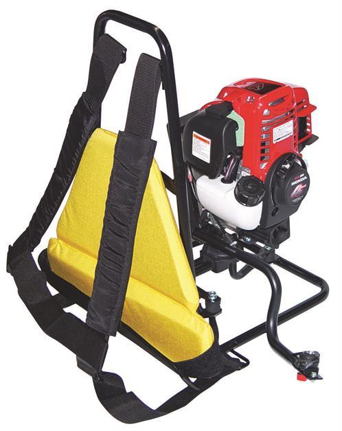 Oztec Petrol Powered Back-pack Concrete Vibrator BP35A