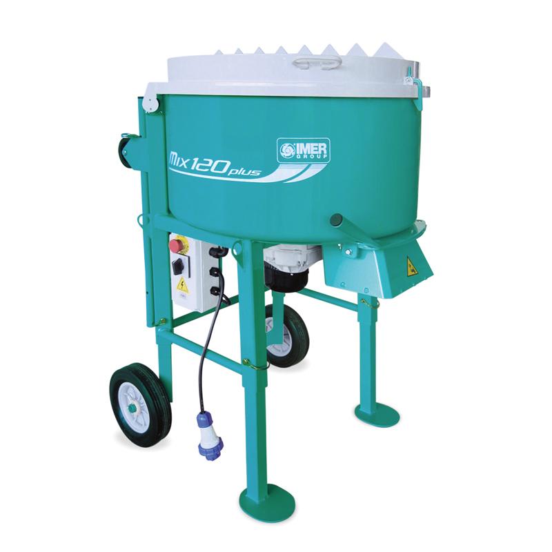 IMER Portable Mortar Mixer 120L