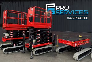 Almac Tracked Access Equipment takes Pro Services to the Next level