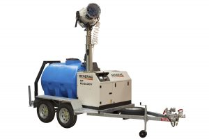 DF3000 Dust Fighter with Trailer and Generator