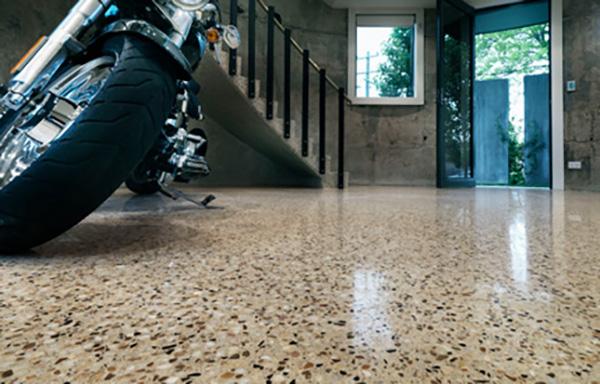 Showroom floor with Premium finish