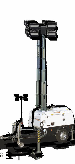 VT-Hybrid Road Towable Light Tower