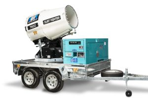DF7500 Dust Fighter with Trailer and Generator